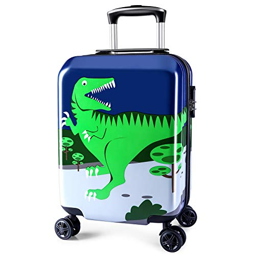 Lttxin Kids' Luggage 19 inch Polycarbonate Carry On