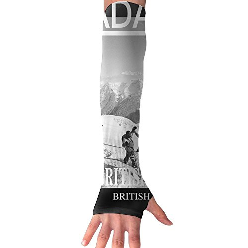 Ski British Columbia Ski Canada Ski BCOutdoor Sports Armguards Sun Protection Arm Football Arm Guard Protective Arm Fast Sweat Fast - Store And Ski Sun