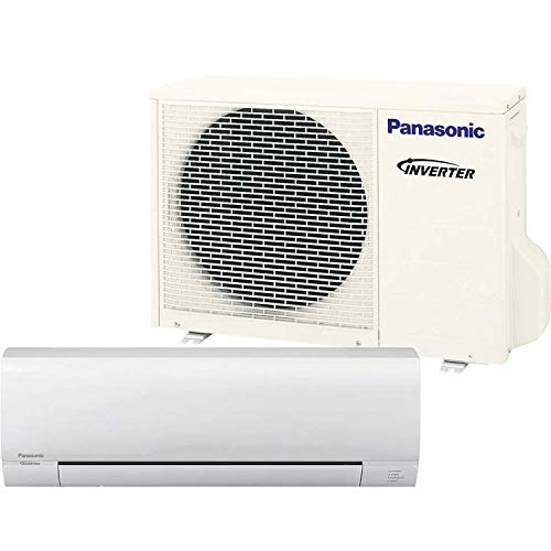 Panasonic Exterios E 12,000 BTU Ductless Mini Split Air Conditioning and Heating System, Indoor and Outdoor Set with Wireless Remote  (208/230V) (Panasonic Mini Split)