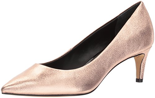 Dolce Vita Women's Salem Pump, Rose Gold Leather, 8 Medium US - Dolce Vita Womens Rose