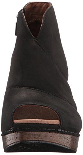 Dansko Women's Delphina Ankle Bootie, Black Milled Nubuck, 38 EU/7.5-8 M US by Dansko (Image #4)