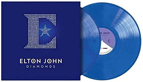 Diamonds (The Ultimate Greatest Hits) - Exclusive Limited Edition Blue 2x LP Vinyl [Condition-VG+NM]
