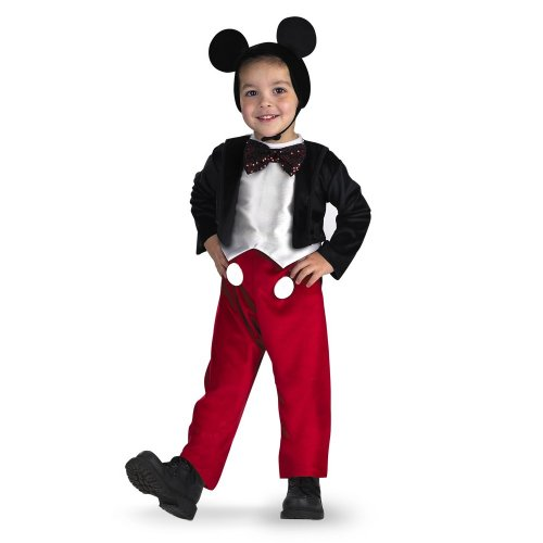 Diguise Mickey Mouse Deluxe - Size: 3T-4T - Minnie And Mickey Costumes