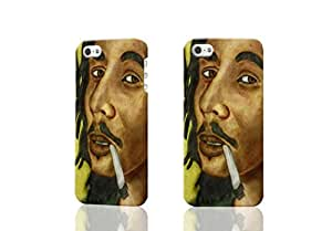 Bob Marley Photo Hard 3d iphone 5C Case , Fashion Image Case Diy, Personalized Custom Durable 3d Case For iPhone 5C
