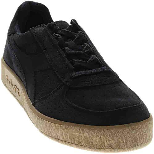 Diadora Mens B.Elite Suede Casual Sneakers, Navy, 13