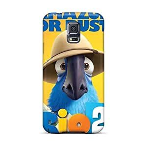 Excellent Hard Phone Case For Samsung Galaxy S5 With Custom Fashion Rio 2 Pattern IanJoeyPatricia