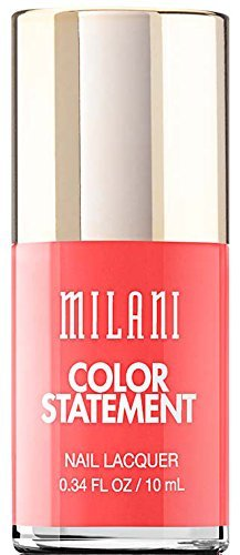 Milani Color Statement Nail Lacquer - 38 Corrupted Coral (Pack of 3) ()