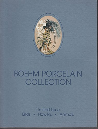 Boehm Porcelain Limited Issue Birds Flowers Animals Collection Catalog 1980s