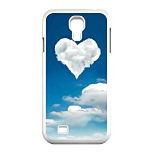 SamSung Galaxy S4 9500 phone cases White Heart Pattern cell phone cases Beautiful gifts LAYS9814967
