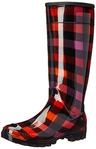 Plaid Boot Laundry Rain Red Ring Laundry by Chinese Women's Dirty Leader g8wxvqpxf