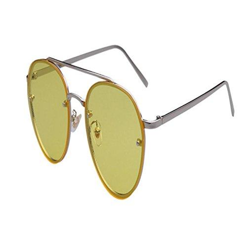 4712bf9e25 HSNZZPP Gafas De Sol De Metal De Color Transparente De La Manera Jalea  Femenina Marea Gafas