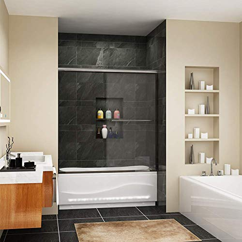 (SUNNY SHOWER Bathtub Shower Door 60