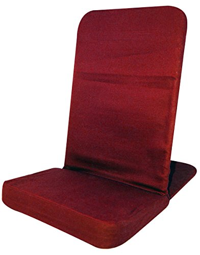 Back Jack Floor Chair (Original BackJack Chairs) – Standard Size (Red)