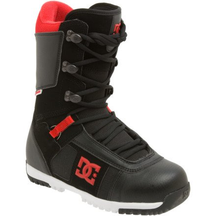 (DC Men's Super Park 12 Performance Snowboard Boot,White/Grey/Yellow,9.5 M)