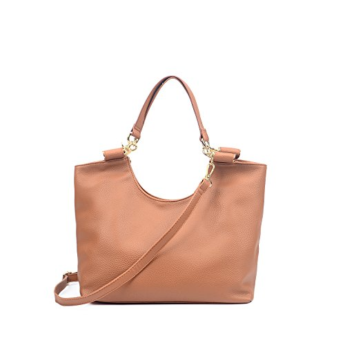 FASH Limited Everyday Tote-style Handbag - Brown by FASH Limited