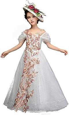 JIE. Vestido de los niños Princesa Vestido niña Pasarela ...