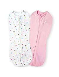 SwaddleMe Pod 2-PK, Baby Bows (NB) BOBEBE Online Baby Store From New York to Miami and Los Angeles
