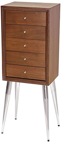 Acme Furniture 97210 Gannon Jewelry Armoire, Dark Mahogany