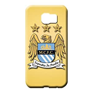 samsung galaxy s6 edge Popular High-end fashion phone carrying cover skin manchester city fc