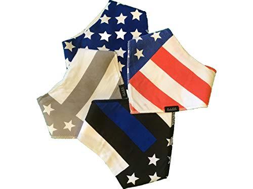 American Flag Bib - 7
