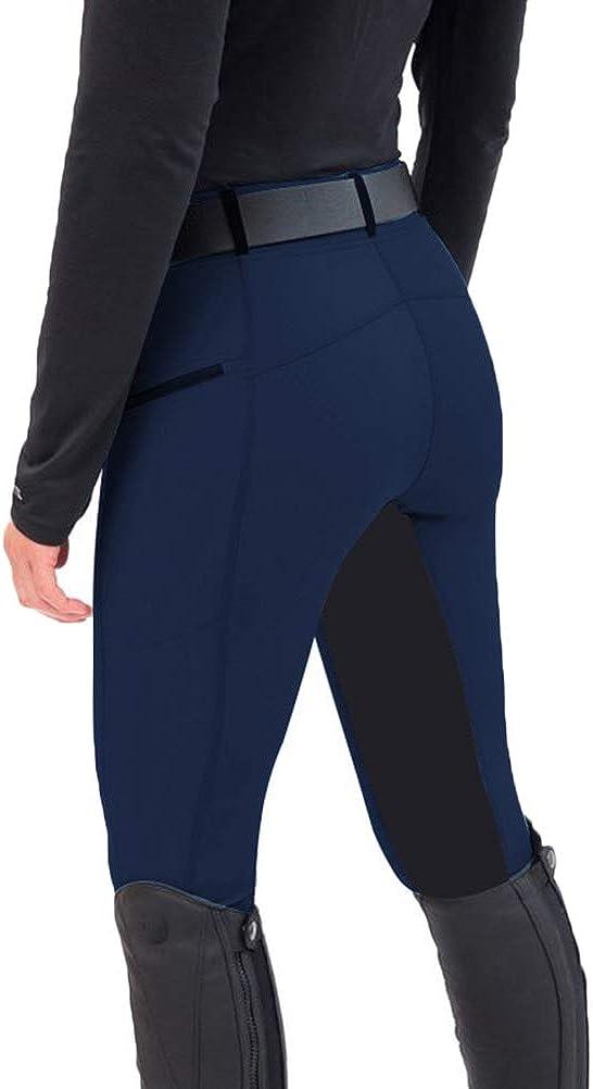 Onsoyours Mujer Pantalones Mallas Elásticas Montar A Caballo Pantalones Jodhpur Mallas Gimnasio Yoga Escuela Deportivos Ecuestres Pantalones