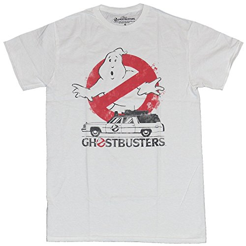 Official Ghostbusters Men's T-Shirt, S to XXL