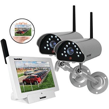 SECURITYMAN DIGILCDNDVR2 Indoor/Outdoor iSecurity Digital Wireless Camera System Home & Garden Improvement