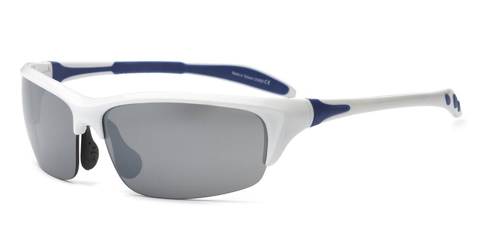 Real Kids 10BLDWHNVP2 Bolt P2 Kindersonnenbrille, Flexible Passform, Größe 10+, Königsblau/grün Größe 10+ Königsblau/grün