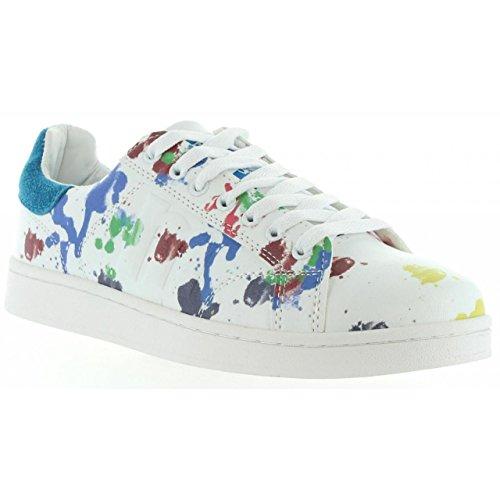 pour Chaussures 69750 MTNG Femme Blanco Sport Azul de C23402 w7xOaqta