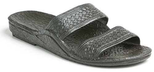 Hawaii Sandals Black Jesus Black Pali 5Ftqptwryf