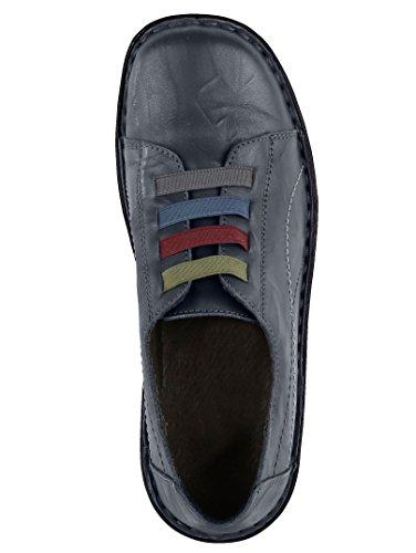 KLiNGEL Slipper mit vierfarbigen Elasteinsätzen Blau