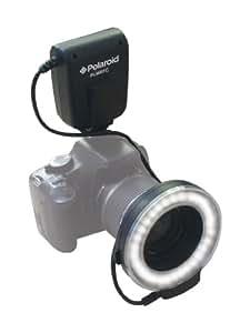 Polaroid Macro LED Ring Flash & Light For The Nikon D5300, D5000, D3000, D3200, D5100, D5200, D3100, D7000, D7100, D4, D800, D800E, D600, D610, D40, D40x, D50, D60, D70, D80, D90, D100, D200, D300, D3, D3S, D700, Digital SLR Cameras (Will Fit 52,55,58,62,67,72,77mm Lenses)