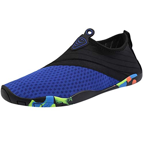 Unisex Water Shoes Respctful✿ Mens Womens Lightweight Water Shoes Non-Slip Barefoot Beach Pool Shoes Quick-Dry Aqua Yoga (Vita Walking Dvd)