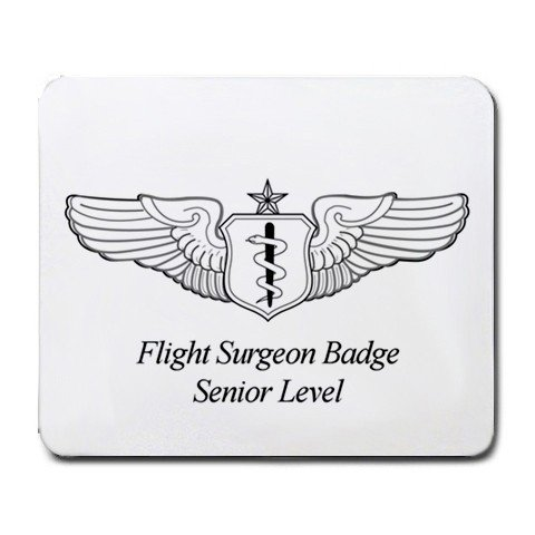 - Flight Surgeon Badge Senior Level Mouse Pad