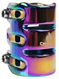 Chilli Pro Scooter 3-BOLT HIC Clamp (31.8MM) (Rainbow)