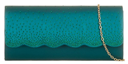Bag Teal HandBags Flap Bag Girly Flap HandBags Wave Wave Clutch Girly Teal Clutch Girly Uw7c6q