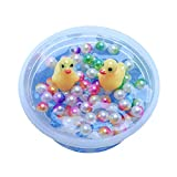 Cyhulu 60ml/100ml Mud Mixing Cloud Slime Putty, Fashion Little Yellow Duck Stress Relief Clay Toy for Kids Christmas Easter Birthday Gift Party Favors (Multicolor, 60ML)