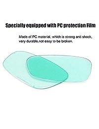1 par de gafas de soldar negras y solares para oscurecimiento automático, protección de seguridad para casco, gafas de soldar y gafas antiarañazos