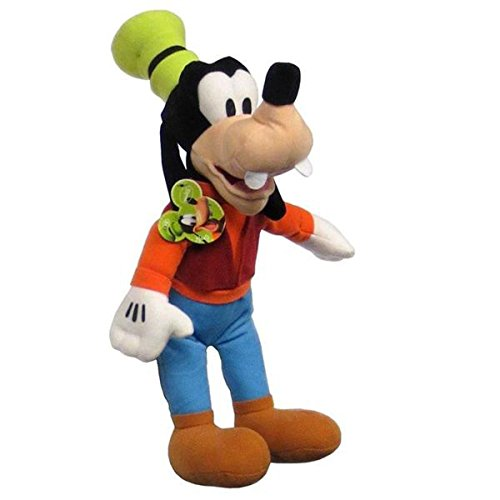 "Free DISNEY NEW Mickey Mouse Club House Goofy 17"" Soft Licensed Plush Doll"