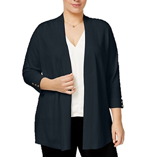 Charter Club Plus Size Open-Front Cardigan 2X