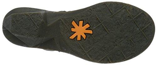 art Oteiza, Zapatillas de Estar por Casa para Mujer Negro (Memphis Black 639)
