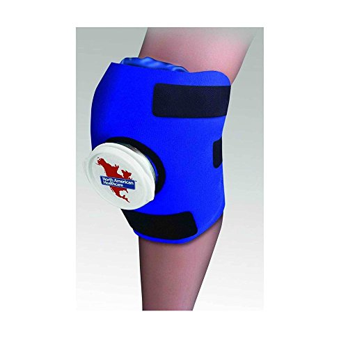 Knee Wrap ICE Bag Pack Cold Therapy Sore Compression Swelling Swollen Must Haves by Unknown