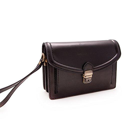 Kuhleder aktentasche - brieftasche. Mehreren fächern. Maßnahmen: 24X17X8 Cms. 100% Natürlich. Qualität garantiert. GlY7f
