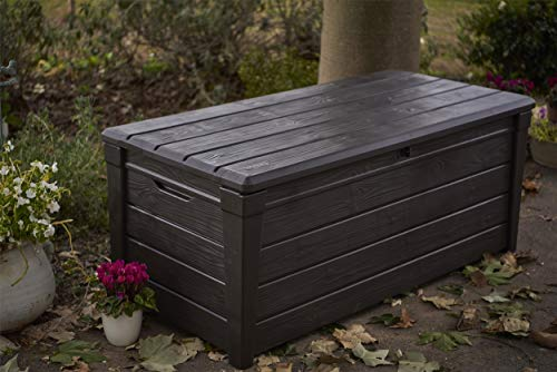 keter brightwood outdoor storage box review