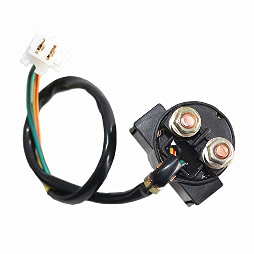 New 14 Inch Starter Relay Solenoid for Yamaha Xv750 Xv 750 Virago 1981 1982 1983 by Amhousejoy - 14 Deadbolt