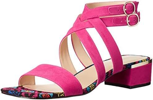 Nine West Women's Yesta Fabric Dress Sandal