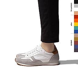 SHEEC - No-Show Hidden Socks for Men (Black/ Regular) - SoleHugger ACTIVE 3-Pair Pack