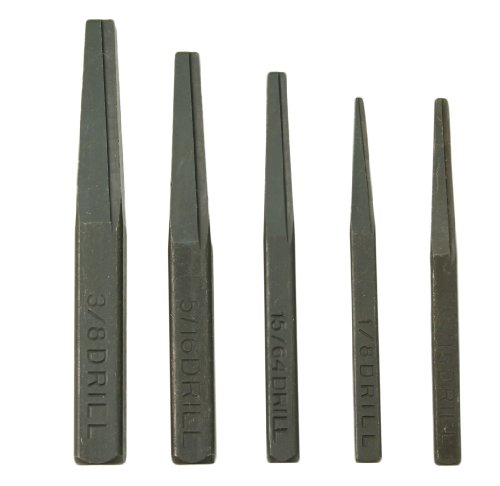CTA Tools 9030 Fluted Screw Extractor Set, 5-Piece 5 Screw Extractor Set