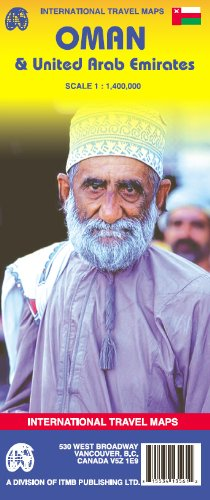 Oman & United Arab Emirates 1:1,400,000 ***2007***