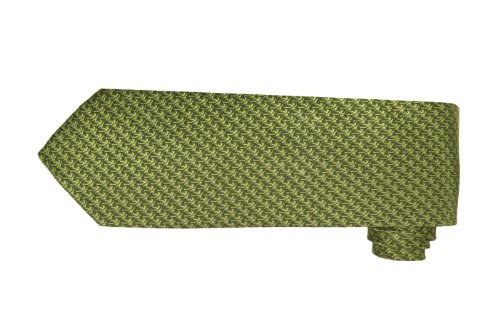(Tommy Bahama Micro Palm Silk Woven Tie (Olive) )